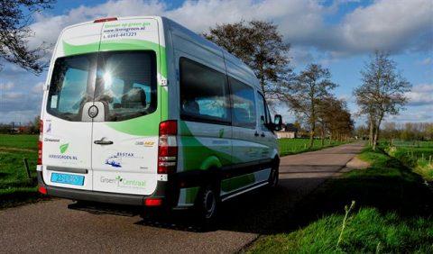 Besseling, taxibus, groen gas