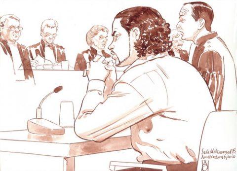 Amsterdamse, taxichauffeur, B., slachtoffer, Sitek, rechtbank, veroordeeld