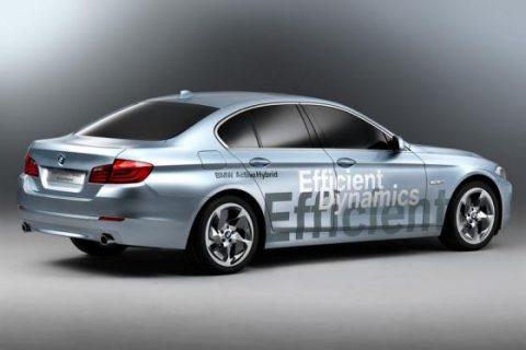 BMW 5-serie hybride