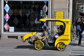 39 chaos met fietstaxi 39 s dreigt in amsterdam 39 taxipro. Black Bedroom Furniture Sets. Home Design Ideas