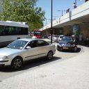 taxi, station, Tilburg