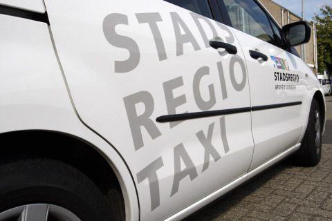 Stadsregio, taxi, Arnhem, Nijmegen