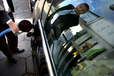 benzinepomp, brandstof, taxi