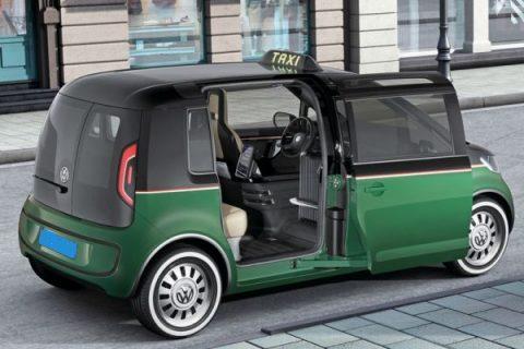 elektrisch, taxi