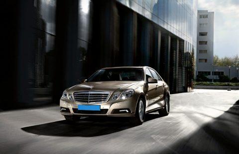 Mercedes, Benz, E-Klasse, taxi, Aardgas