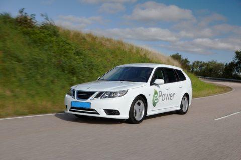 Saab, elektrisch, taxi