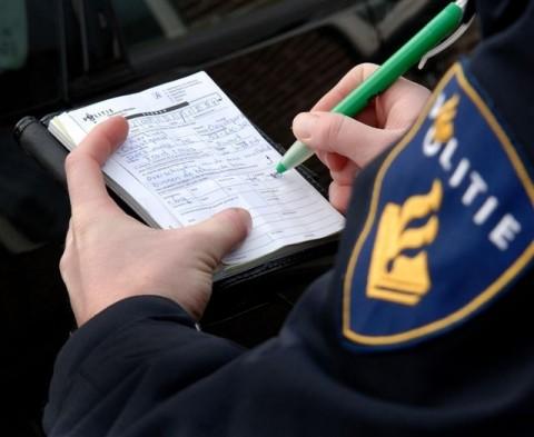 boete, taxi, bekeuring, politie