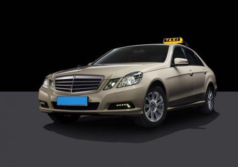 Mercedes, Mercedes-Benz, taxi, E-Klasse