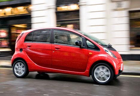 Mitsubishi, iMiEV, elektrische auto