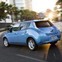 Nissan, Leaf, elektrisch, auto, taxi