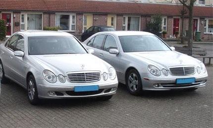 taxi, Mercedes E-Klasse