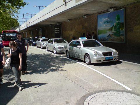 tilburg, taxi, station, taxichauffeur