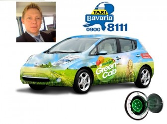 Taxi Bavaria, GeenCab, elektrische taxi