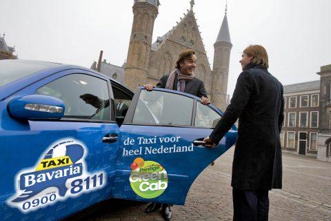 Taxi Bavaria, GreenCab, Peer Swinkels, Camiel Eurlings, taxi