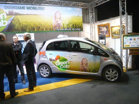 Prestige, GreenCab, Taxi-Expo, elektrische taxi