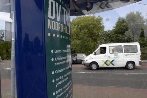 OV-taxi, Noord-Holland, taxi, provincie