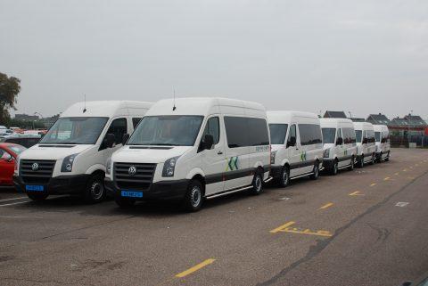Connexxion, taxi, taxibus, buurtbus, Tribus