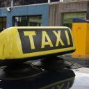 taxibord, taxi, taxichauffeur, daklicht