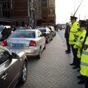 Taxistandplaats, Amsterdam, Centraal Station, toezicht, politie