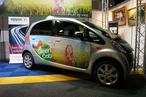 elektrische taxi, Prestige, GreenCab, milieuvriendelijk