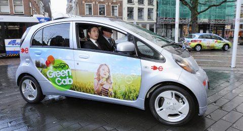 elektrische taxi, GreenCab, Utrecht, George Jansen, Prins Maurits