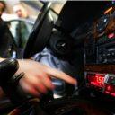 taximeter, prijs, taxi, taxichauffeur, tarief
