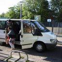 leerlingenvervoer, taxi, taxibus