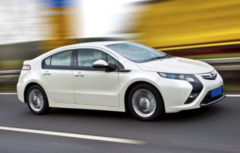 Opel Ampera, taxi