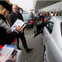 taxicontrole, Marechaussee, taxichauffeur, vergunning, Schiphol