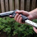 vuurwapen, pistool, schot