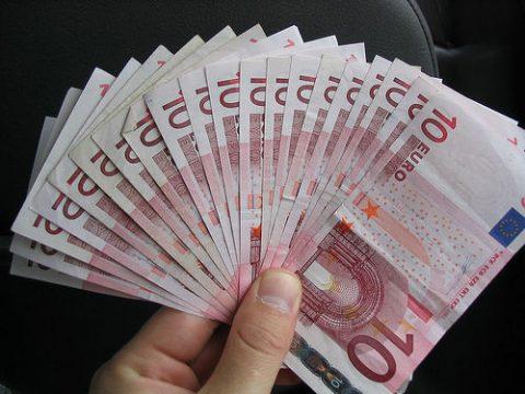 Geld, euro, bijdrage