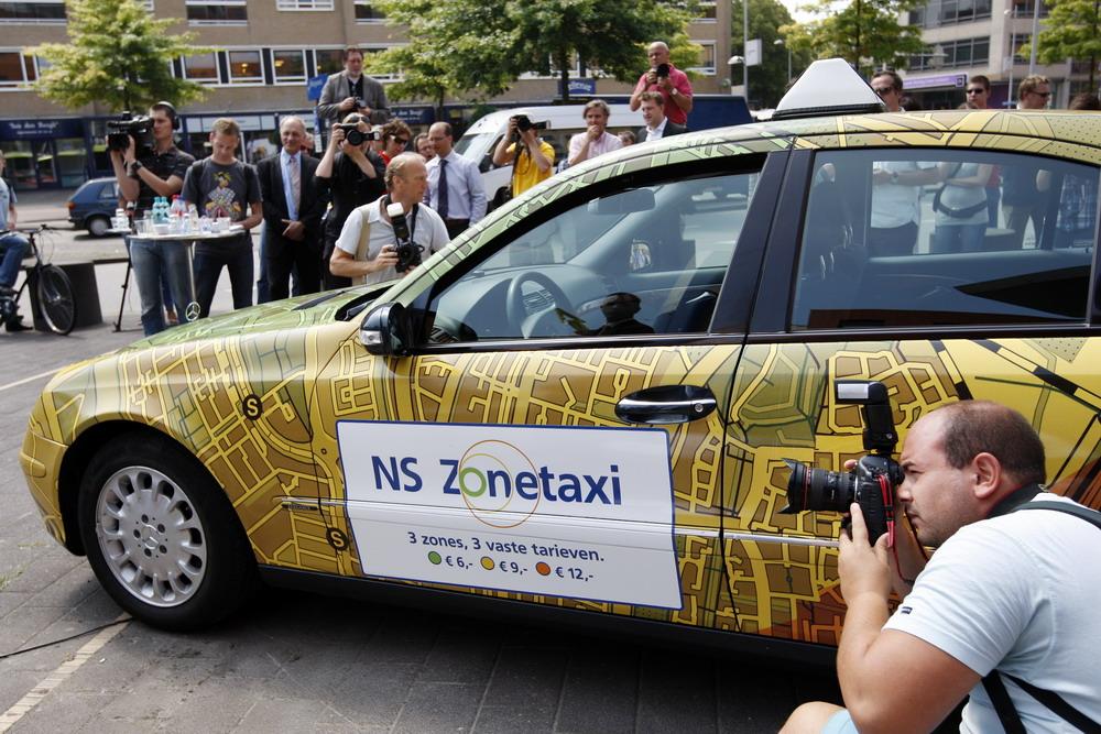 NS Zonetaxi in november uitgebreid naar tientallen ...