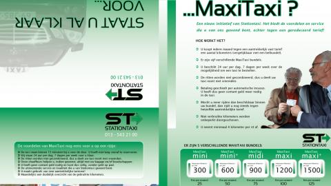 MaxiTaxi, Stationtaxi, Tilburg, taxi