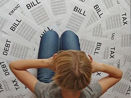 failliet, rekening, premie, belasting