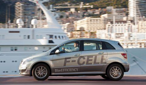 Mercedes-Benz, F-Cell, waterstof, brandstofcel