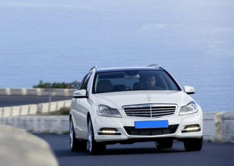 taxi, Mercedes, C-Klasse, Benz, nieuwe