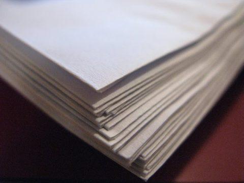 papier, regels