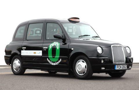 taxi, waterstof, londen