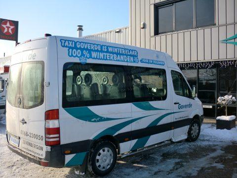 winterbanden, taxibus, Taxi Goverde, Zevenbergen, taxi