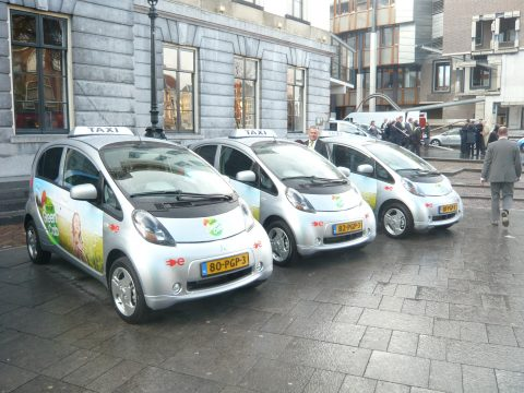 GreenCab, elektrische taxi