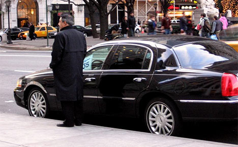 New York, Town Car, taxi
