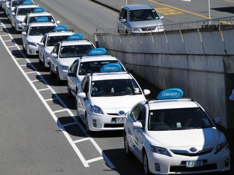 taxistandplaats, Nieuw-Zeeland, taxi