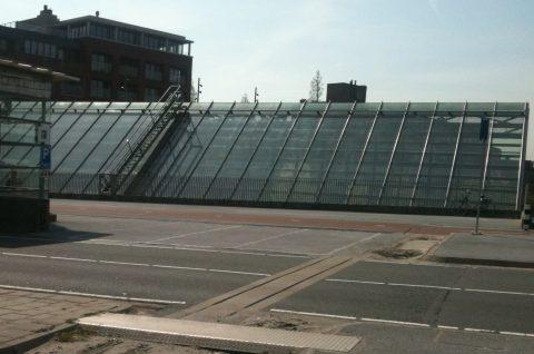 Nieuwe taxistandplaats, Schiedam, taxi