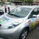 Nissan Leaf, elektrische taxi