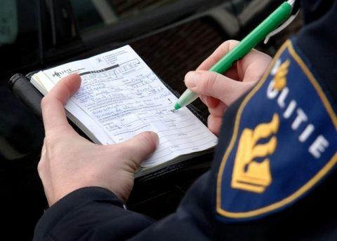 boete, bekeuring, politie, proces-verbaal