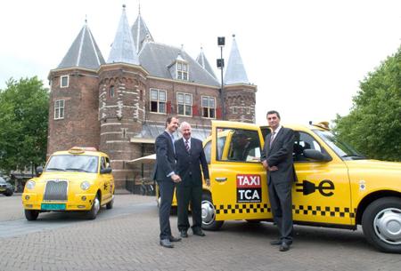 elektrische taxi, Amsterdam, TCA