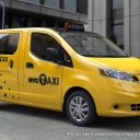 Nissan, NV200, taxi, New York, NYC