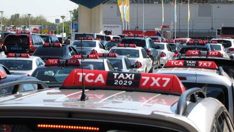 TCA, Taxi Centrale Amsterdam, taxi
