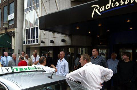 TCA, taxibord, oud, taxi, taxichauffeur