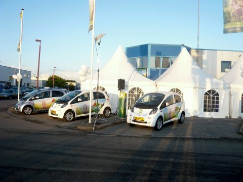 GreenCab, opening, laadpaal, elektrische taxi, snellader, taxicentrale